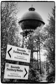Ruinen - Ruins Ruines - Rovine Ruinas - Pуины Zřícenina : Wassertürme Duisburg-Wedau, Güterbahnhof...10.2016...