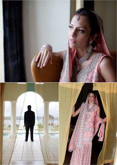 First Look- Trinidad Wedding