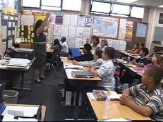 OMG THIS WOMAN IS AMAZING! What GREAT Classroom Management! Whole Brain Teaching: This is a sixth grade class, but it would work GREAT for second graders!