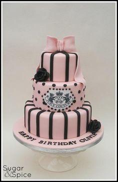 Olivia Juicy Couture cake