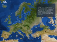 What Europe will look like after all the ice melts (National Geographic)