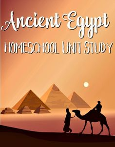 Studying Ancient Egypt? This Ancient Egypt Homeschool Unit Study has EVERYTHING you need to teach your kids in a fun and informative way!