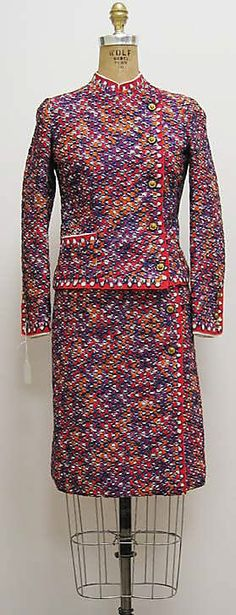Chanel women's suit 1966