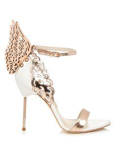 08fe736e891351 Shop Sophia Webster Evangeline Angel-wing Sandals at Modalist. Frances Chiu  · Wedding Shoes