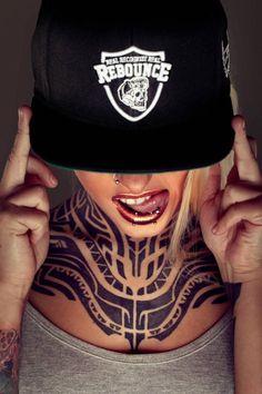 Tattoo #inked Girl - Model: Teya Salat