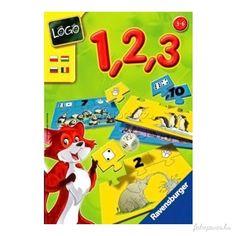 Mennyiségek és számok 1-től 10-ig. Hány egeret látunk? És hol az idevaló kártya? A dobókocka mutatja meg, milyet kell keresnünk. Az nyeri a játékot, aki elsőként illeszti össze képkártyáiva...