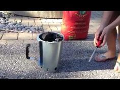 How to start a Charcoal Barbecue Grill