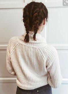 Braids for short-ish hair