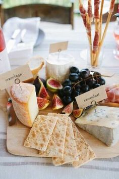 Wine & Cheese Tasting Party with La Crema Wine And Cheese Party, Wine Tasting Party, Wine Parties, Wine Cheese, Cheese Fruit, Picnic Parties, Cheese Food, Antipasto, Buffet Party