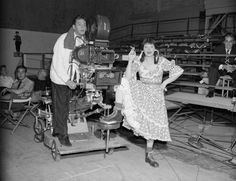 """Lucille Ball and Desi Arnaz filming the episode, """"Lucy Thinks Ricky Is Trying to Murder Her."""" This was the very first episode of I Love Lucy to be filmed. I Love Lucy Show, My Love, Lucille Ball Desi Arnaz, Lucy And Ricky, Rehearsal Dress, Old Shows, Scene Photo, A Christmas Story, Classic Tv"""