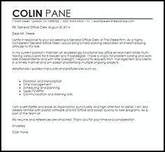 office clerk cover letter free example health records you would need - Office Clerk Cover Letter