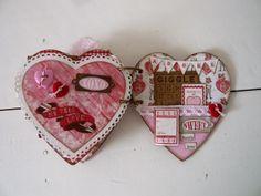 Heart shaped album - Smitten Authentique