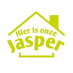 Geboortesticker Jasper