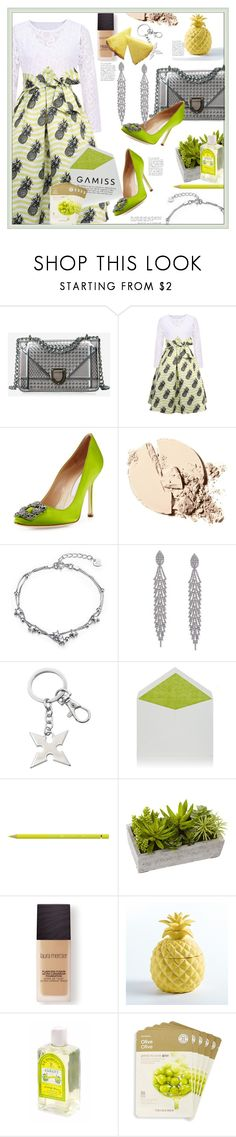 """""""Gamiss lace dresses - win 20$ via PAYPAL!"""" by oksi-k ❤ liked on Polyvore featuring Manolo Blahnik, Connor, Faber-Castell, Nearly Natural, Laura Mercier, The Face Shop, dress, lacedress, fashionset and gamiss"""