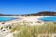 The incredible Simos  beach, Elafonisos island - Selected by www.oiamansion.com
