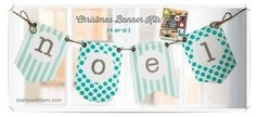 VIDEO: Christmas Banner Simply Created Accessory Kit | Stampin Up Demonstrator - Tami White - Stamp With Tami Stampin Up blog