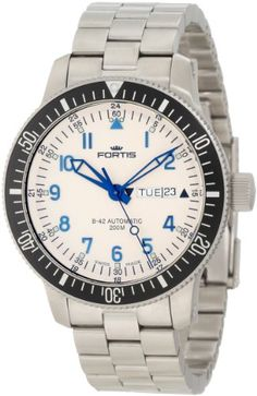 Fortis Men's 648.10.12 M B-42 Diver Day and Date Watch