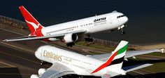 Boeing 767 quase colide com Airbus A380