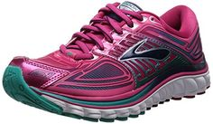 Brooks Women's Glycerin 13 Running Shoe - Bright Rose/Lapis/Parachute Purple - 8 B(M) US >>> Click image to review more details.