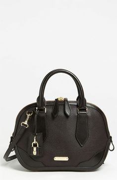Burberry 'London Grainy' Leather Satchel available at Nordstrom