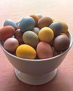 la casa di midsummer: Colorare le uova naturalmente