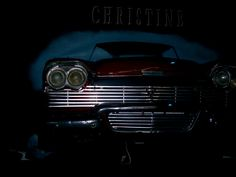 Christine is at the top of the stairs and it is only the front of the car. Plymouth Fury, Movie Cars, Avengers, King, Lights, Art, 1990s, Cars, Expensive Cars