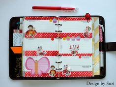 The week nr. 33 - retro with ladybugs #planner
