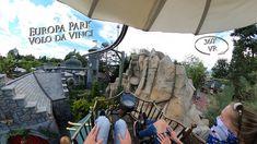 Europa Park Volo da Vinci 360° VR POV Onride Park, Mount Rushmore, Mountains, Nature, Youtube, Travel, Europe, Naturaleza, Viajes