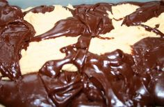 This peanut butter and chocolate fudge is divine!