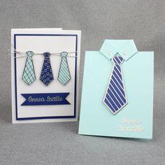 Hauskoista solmioaiheisista ääriviivatarroista saat helposti ja nopeasti tyylikkäitä isänpäiväkortteja. Diy, Bricolage, Diys, Handyman Projects, Do It Yourself, Crafting