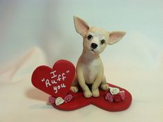 Chihuahua Valentine by Laurie Valko, via Flickr