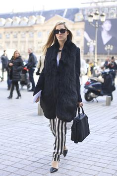Some more Paris Fashion Week Street Style for you….