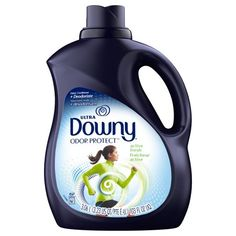 Downy Odor Protect Active Fresh Liquid Fabric Deodorizer and Fabric Conditioner, 103 fl oz Cleaning Day, Cleaning Products, Cleaning Hacks, Cleaning Supplies, Laundry Detergent, Detergent Bottles, Dishwasher Detergent, Plastic Design, Downy