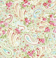 Tanya Whelan Fabric / Delilah Collection / PAISLEY in by mimis, $8.99