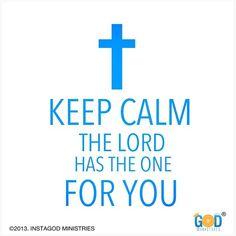 Keep Calm. :)