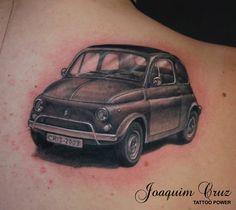 Fiat 500 Tattoo!