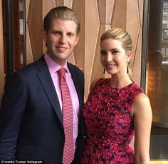 [ Fashion Designer For Ivanka Trump Line Says Team Doesn Get Criticized Over Mixed Message Maternity Leave ] - Best Free Home Design Idea & Inspiration Eric Trump, Katie Evans, Donald Trump Family, Pale Pink Lips, Trump Kids, Post Baby Body, Ivanka Trump, How To Look Pretty