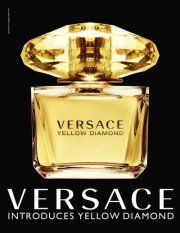 """Become a Facebook Fan by """"liking"""" Versace and get a FREE Sample of 'Versace Yellow Diamond' Perfume."""