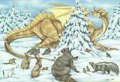 Yule Dragon