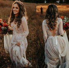 Lindooo #vestidodenoiva #poá #bohoweddingdress