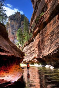 """Mini Subway"" Oak Creek Canyon . Sedona"