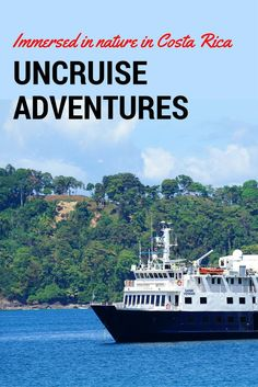 Take a cruise (errr.... uncruise) with UnCruise Adventures and you'll be immersed in nature. Our Costa Rica cruise dug up nature and tossed it at us in spades. We even saw a snake killing a poor frog...