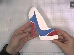 Stamping T! - High Heel Shoe Card