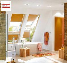 Rolgordijnen in de badkamer? Wij kunnen je prima adviseren en indien gewenst kunnen wij alles voor je opmeten en monteren!