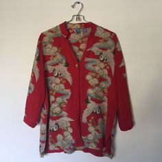 Japanese style button up Size xsmall-medium Vintage Tops Button Down Shirts