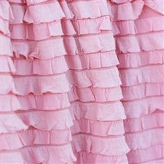 Ruffle Crib Skirt Baby Girl Bedding Nursery Decor Many Colors Available