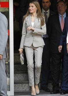 Business -   Princess Letizia of Spain -  summer looks
