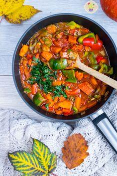 przepis na leczo z dynią Wok, Curry, Ethnic Recipes, Curries