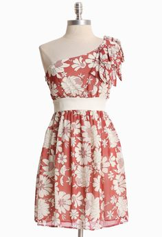 Marvelous Memories Floral Dress
