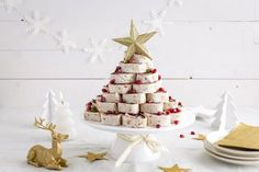 Kerstboomwraps - Libelle Lekker Cosy Christmas, Christmas Time, Holiday, Snacks Für Party, Appetizers For Party, Christmas Appetizers, Christmas Treats, Toast Noel, Tapas